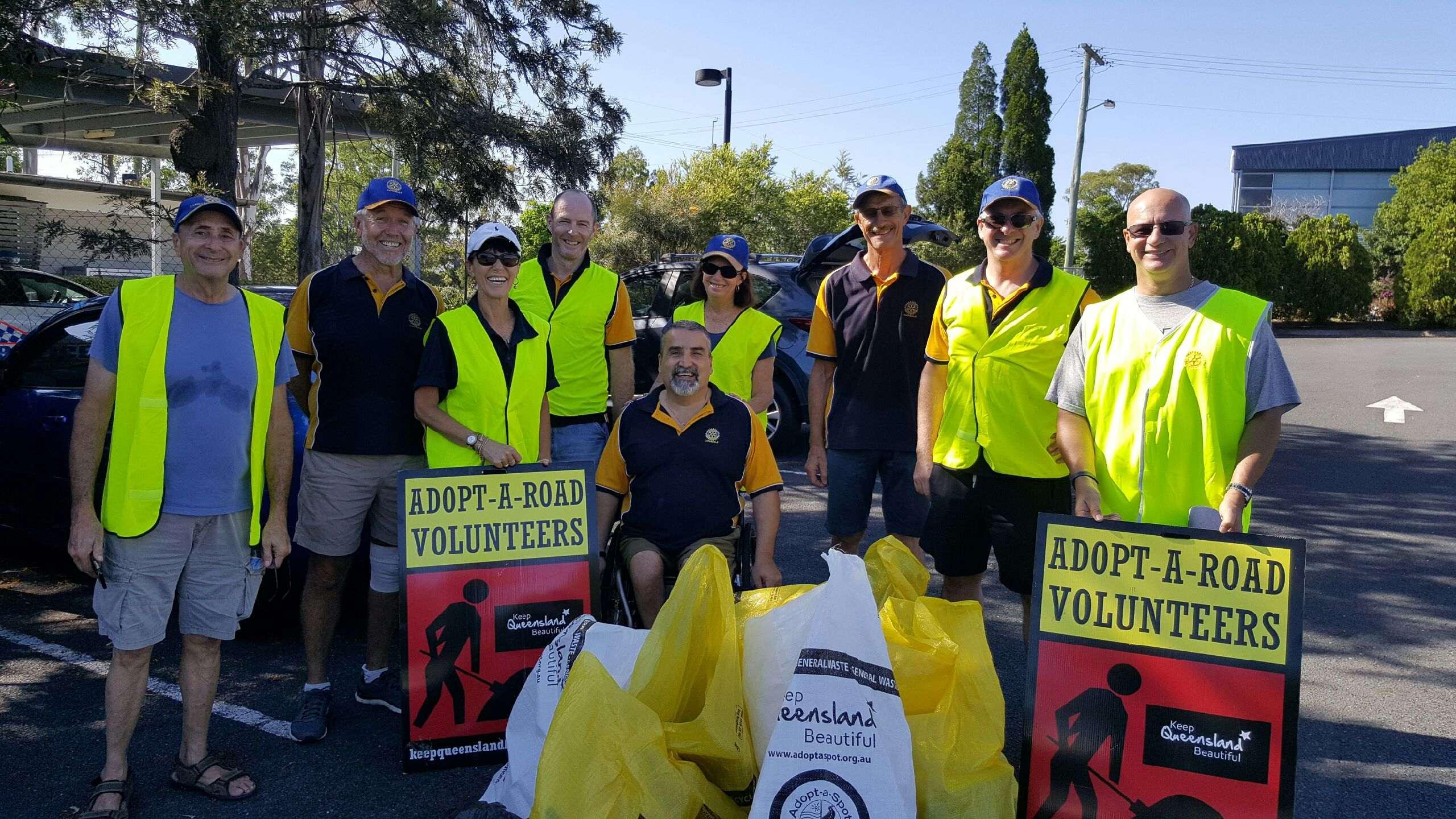 adopt a road clean up 12 Feb 17